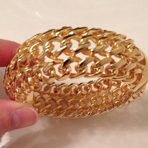 Kenneth Jay Lane Gold Bracelet